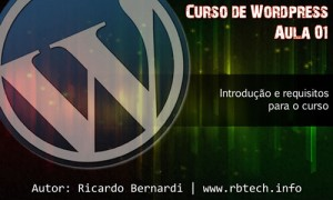 Criando blogs com WordPress