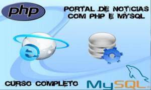 Portal de notícias com PHP + MySQL